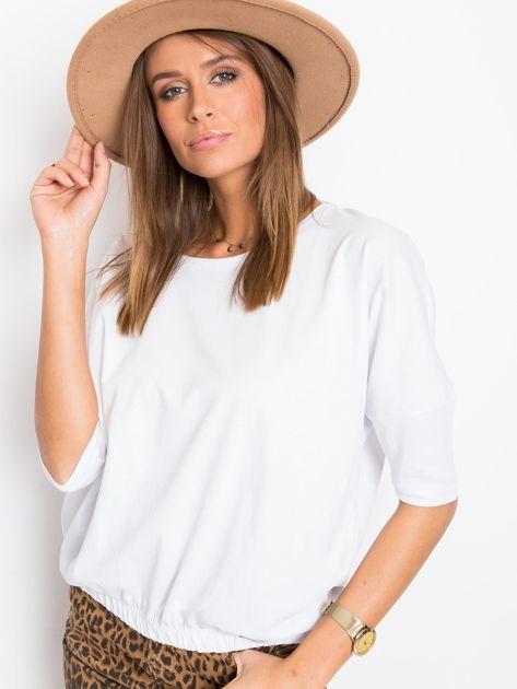 Biała bluzka Brittany                              zdj.                              5