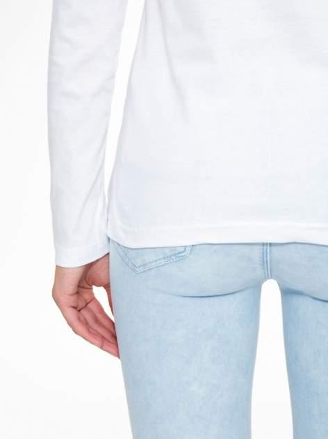 Biała bluzka z motywem Paryża                                  zdj.                                  10