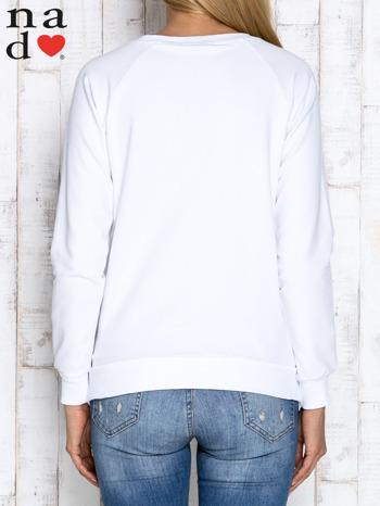 Biała bluzka z napisem ZOŁZA                                  zdj.                                  4