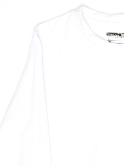 Biała bluza młodzieżowa                              zdj.                              3