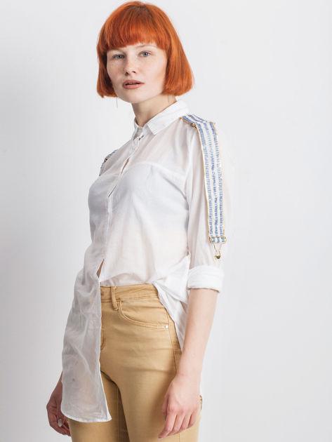 Biała koszula Secondly                              zdj.                              1