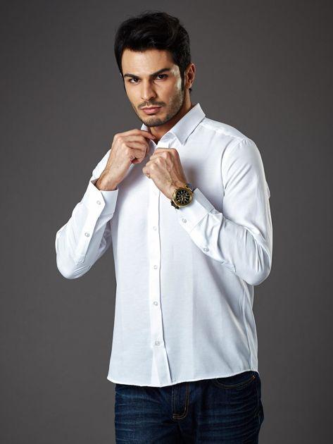 Biała koszula męska regular fit                              zdj.                              1