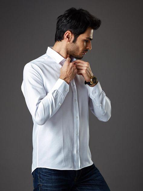Biała koszula męska regular fit                              zdj.                              3