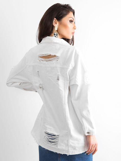 Biała kurtka jeansowa Modern                              zdj.                              2