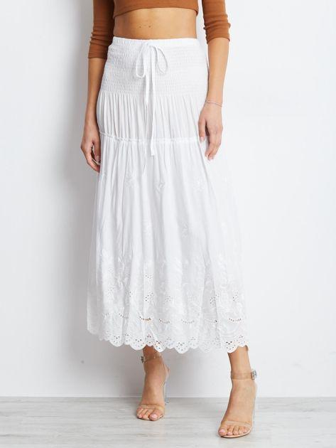 Biała spódnica Enact                              zdj.                              1