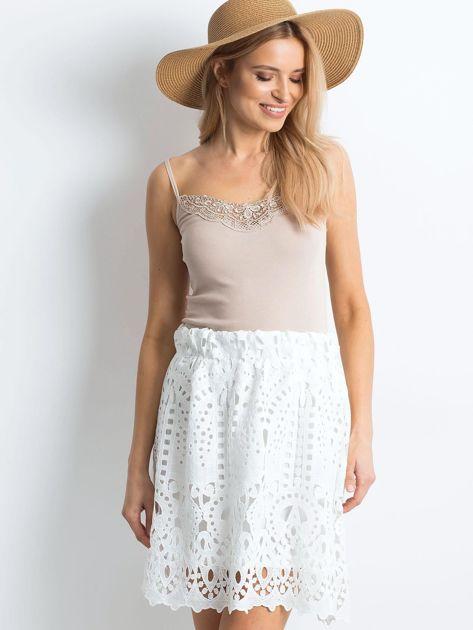 Biała spódnica Princess                              zdj.                              5