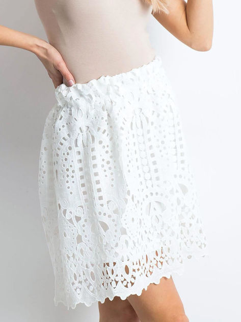 Biała spódnica Princess                              zdj.                              1