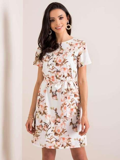 Biała sukienka Delfee