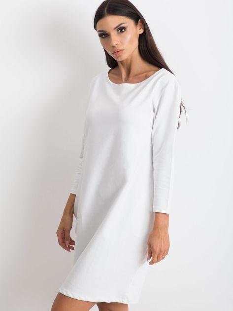 Biała sukienka Distinguished                              zdj.                              1