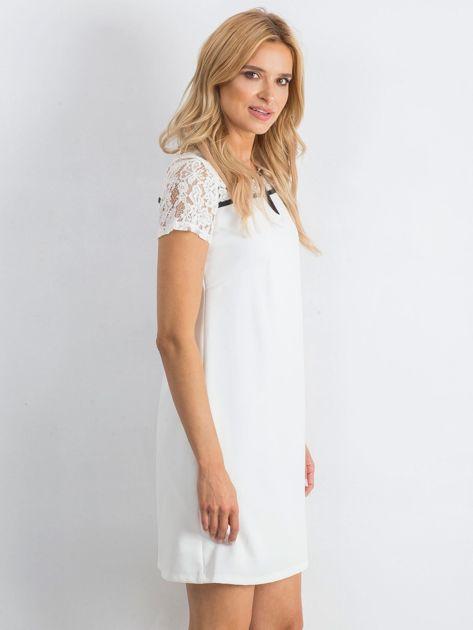 Biała sukienka Irresistible                               zdj.                              3