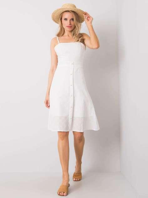 Biała sukienka Madame RUE PARIS