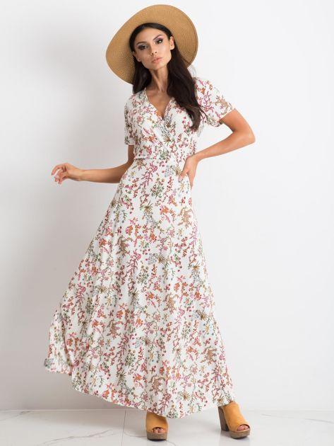 Biała sukienka Manufacturing                              zdj.                              1