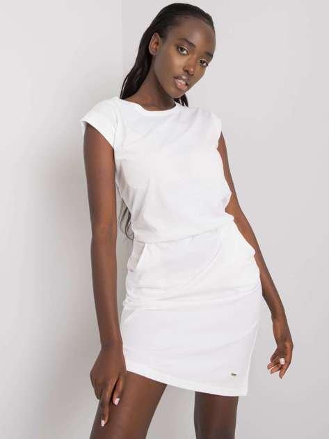 Biała sukienka Ruby NIE ZNASZ MNIE