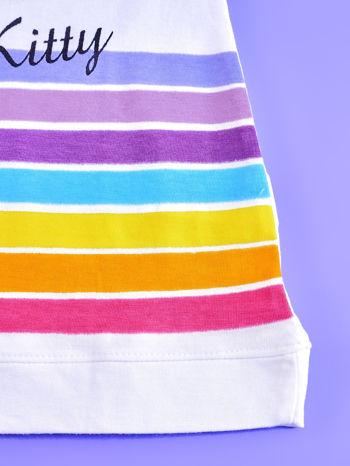 Biała sukienka bez rękawów dla dziewczynki HELLO KITTY                                  zdj.                                  5