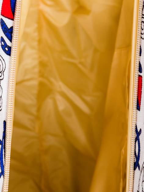 Biała torba plażowa w kotwice                                  zdj.                                  10