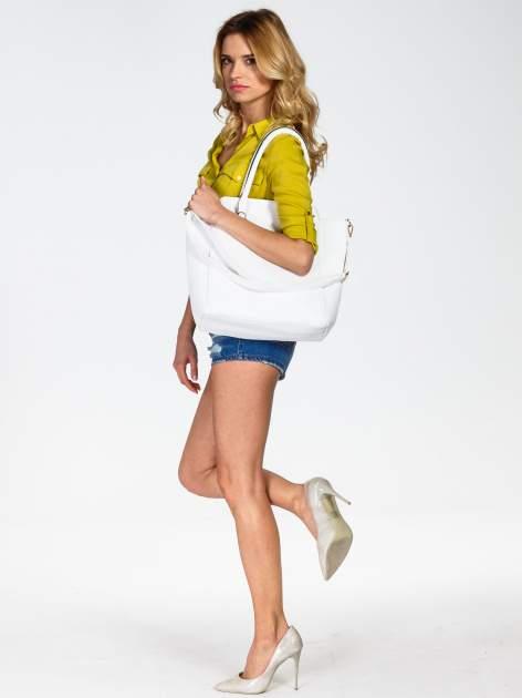 Biała torba shopper bag                                  zdj.                                  6