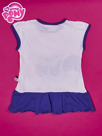 Biała tunika dla dziewczynki MY LITTLE PONY                                  zdj.                                  2