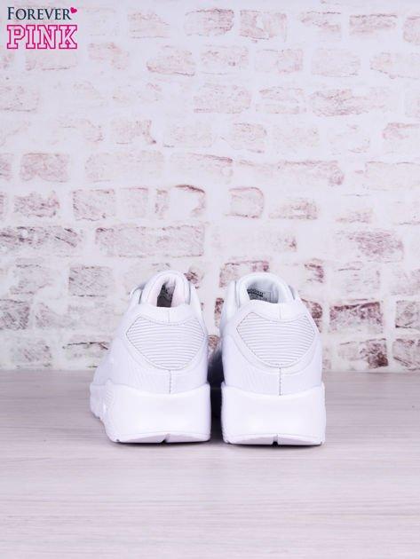 Białe buty sportowe faux leather Milkshake na poduszce powietrznej                                   zdj.                                  4