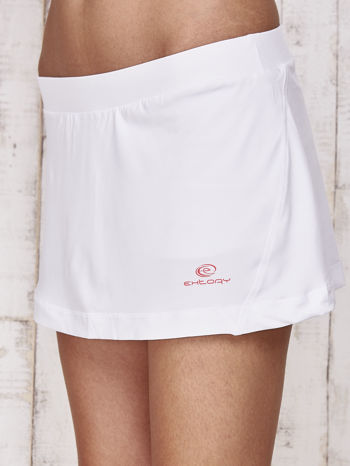 Białe gładkie spodenki spódniczka tenisowa                                   zdj.                                  6
