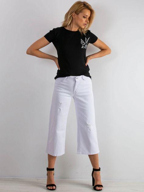 Białe jeansy Reasons                              zdj.                              4