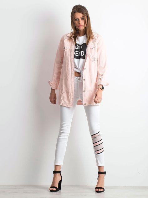 Białe jeansy Totally                              zdj.                              4