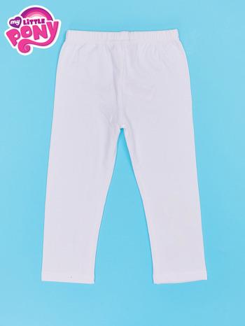 Białe legginsy dla dziewczynki MY LITTLE PONY                                  zdj.                                  2