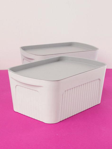 Białe pudełko z pokrywką                              zdj.                              4