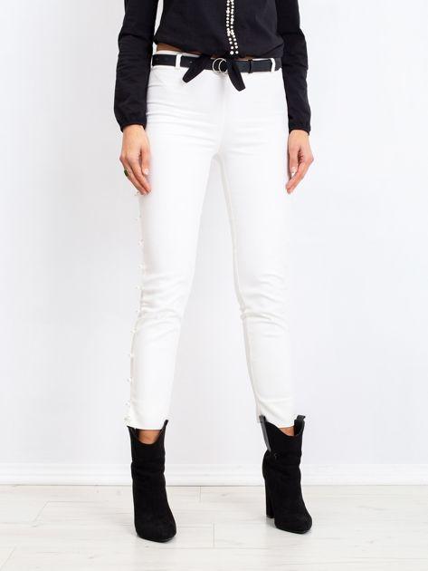 Białe spodnie Pearl                              zdj.                              1