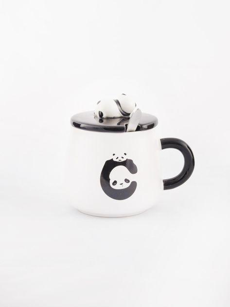 Biało-czarny kubek z pandą                              zdj.                              5