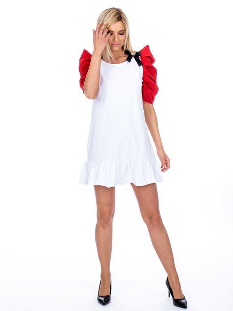 Biało-czerwony strój wróżki                              zdj.                              4