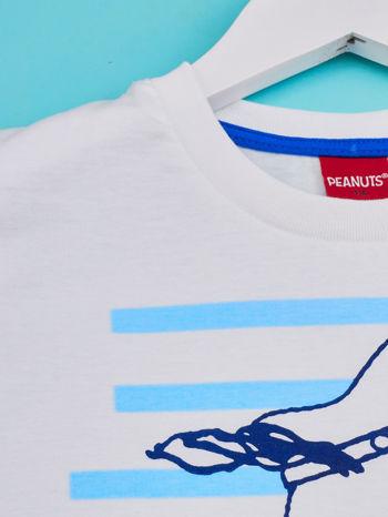 Biało-niebieski t-shirt chłopięcy FISTASZKI                                  zdj.                                  3