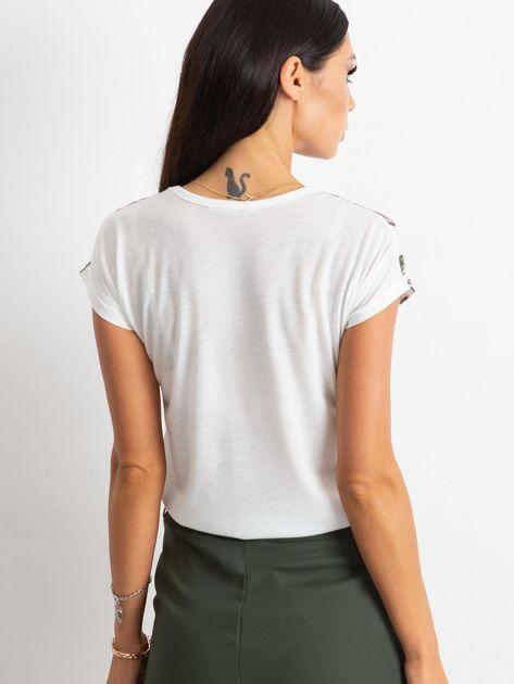 Biały t-shirt Methodology                              zdj.                              3