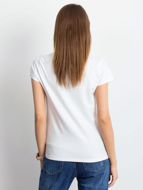Biały t-shirt Square                              zdj.                              2