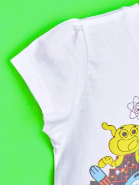 Biały t-shirt chłopięcy GUMBALL                                  zdj.                                  6