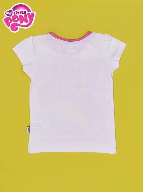 Biały t-shirt dla dziewczynki MY LITTLE PONY                                  zdj.                                  2