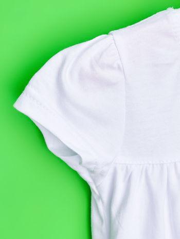 Biały t-shirt dla dziewczynki ŚWINKA PEPPA                                  zdj.                                  6