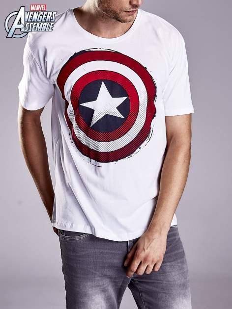 Biały t-shirt męski AVENGERS                                  zdj.                                  3