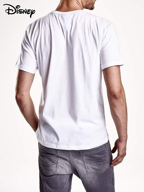 Biały t-shirt męski KACZOR DONALD                                  zdj.                                  3
