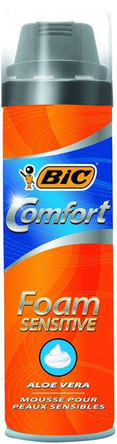 "Bic Pianka do golenia BIC COMFORT SENSITIVE 250ml"""