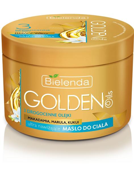 Bielenda Golden Oils Ultra Nawilżanie Masło do ciała 200ml