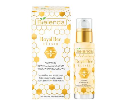"""Bielenda Royal Bee Elixir Aktywnie Rewitalizujące Serum przeciwzmarszczkowe 30ml"""""""