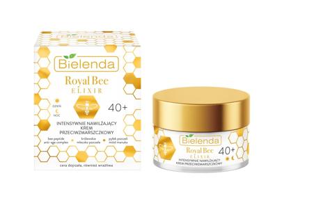 """Bielenda Royal Bee Elixir Krem 40+ intensywnie nawilżający przeciwzmarszczkowy 50ml"""""""