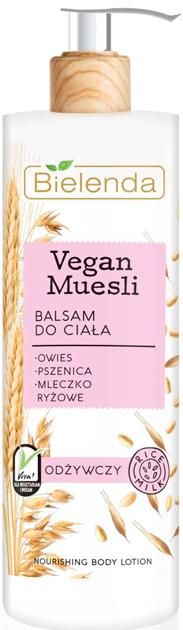 Bielenda Vegan Muesli Balsam do ciała odżywczy 400 ml