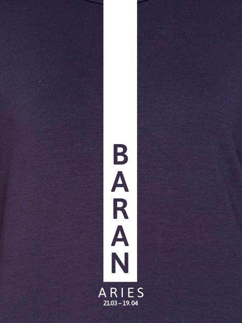 Bluza damska BARAN znak zodiaku grafitowa                                  zdj.                                  2