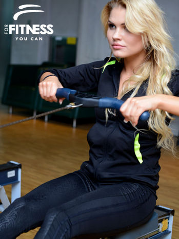 Bluza For Fitness z kapturem