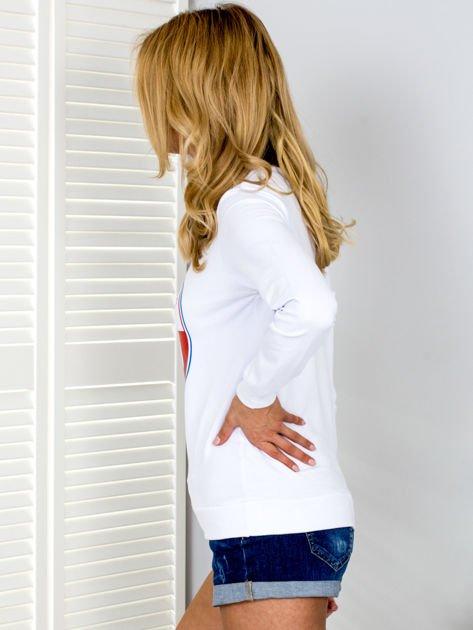 Bluza damska VICTOIRE GIRLS biała                              zdj.                              5