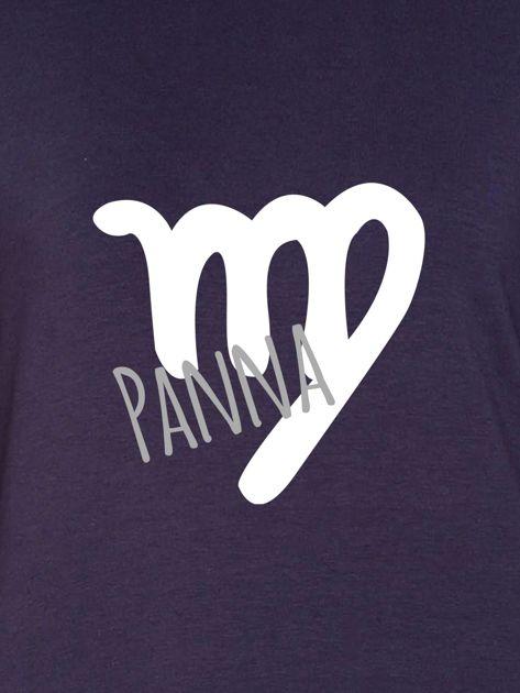 Bluza damska z motywem znaku zodiaku PANNA grafitowa                              zdj.                              2