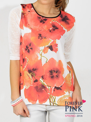 Bluzka z kwiatami                                  zdj.                                  2