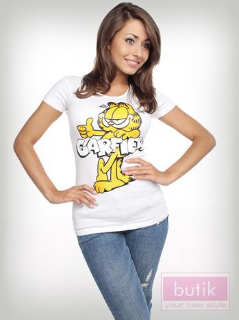 Bluzka z wizerunkiem Garfielda                                  zdj.                                  2