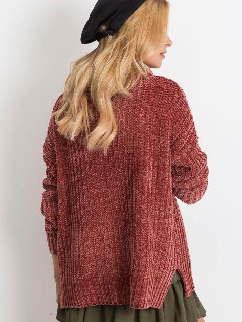 Bordowy sweter Lexie                              zdj.                              2